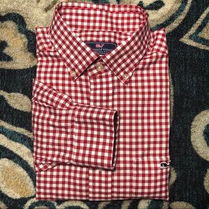 Vineyard Vines Classic Fit Tucker Gingham Shirt